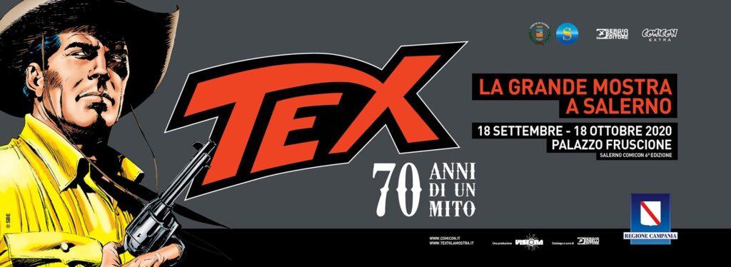 Comicon Extra, a Salerno la mostra Tex 70 anni di un mito