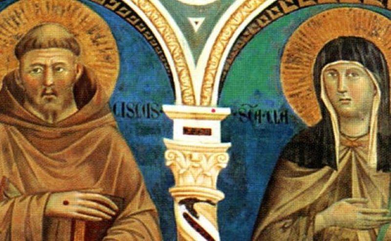 Santa Chiara d'Assisi: fondatrice delle Clarisse e patrona delle telecomunicazioni