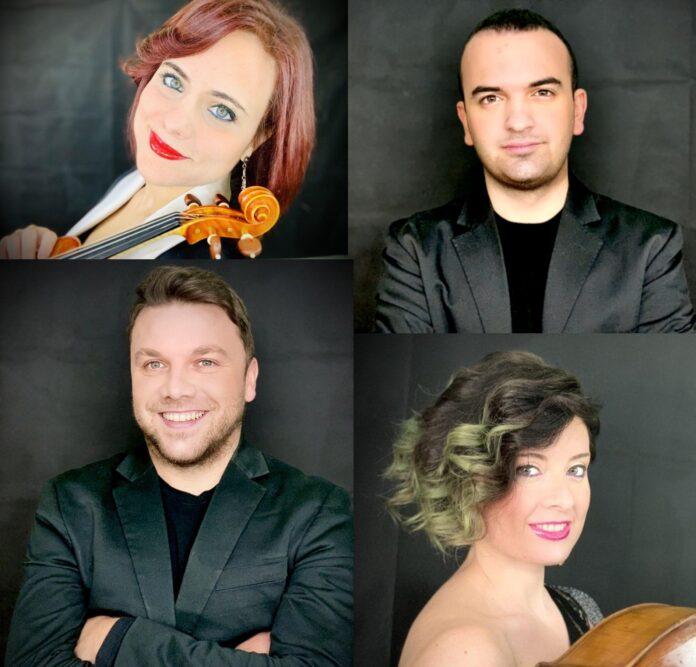 Associazione Scarlatti, in concerto il Quartetto Mitja e il violista Francesco Solombrino