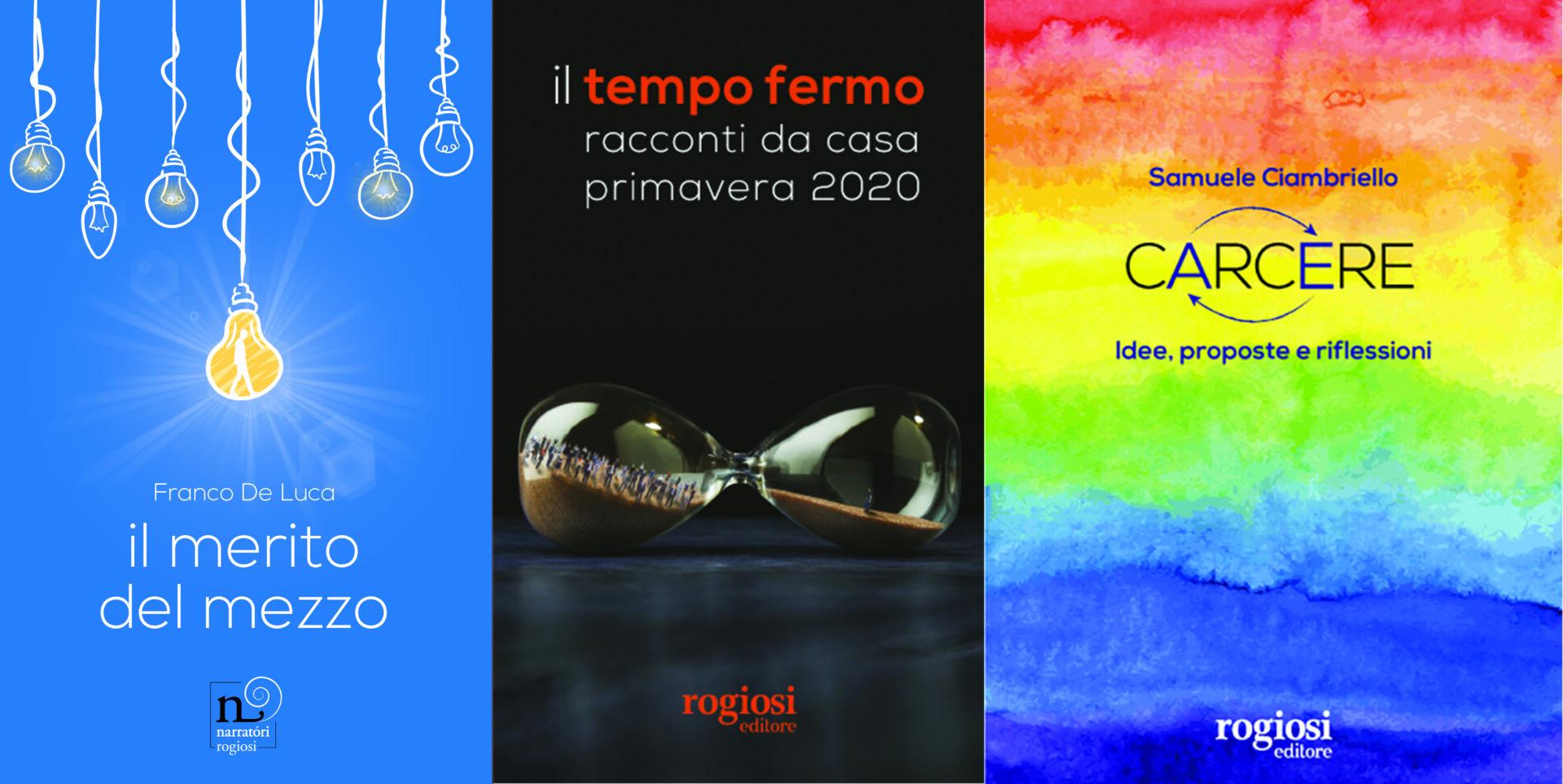 Rogiosi Editori nell'ambito della rassegna 'In-Chiostro' presenta i libri degli autori Franco De Luca, Samuele Ciambriello e AAVV. Ecco le date degli appuntamenti.