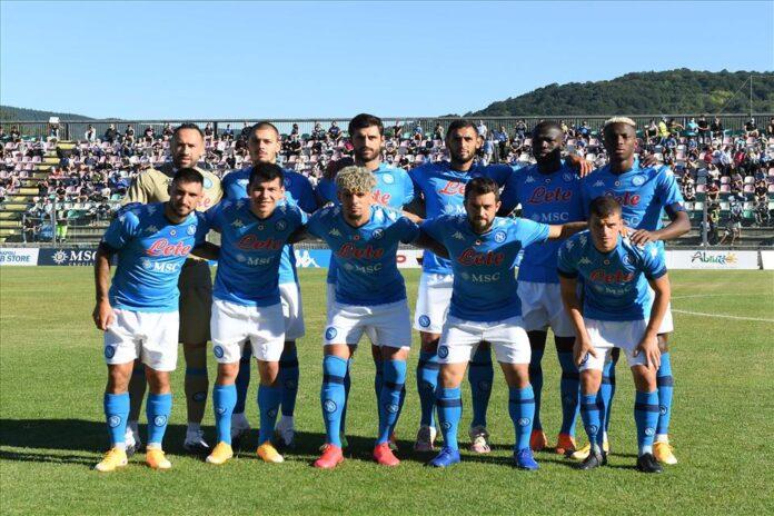 Calcio Napoli: show di Osimhen in amichevole contro il Teramo