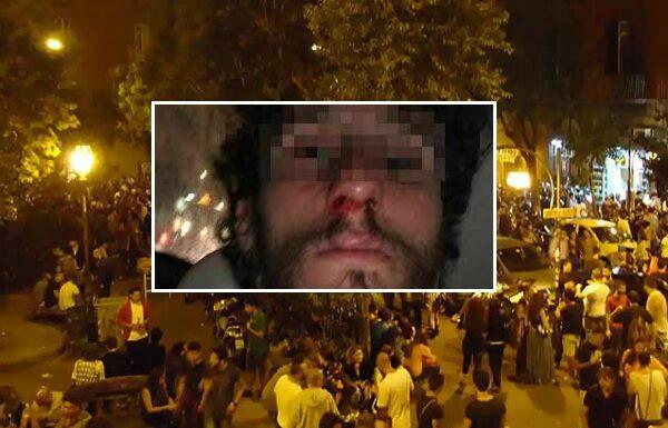 Aggressione omofoba in piazza Bellini: due denunciati