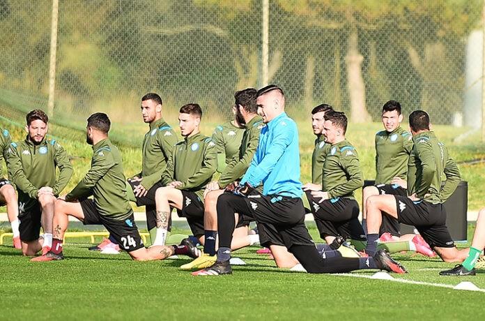 Calcio Napoli: negativi tutti i tamponi della prima squadra