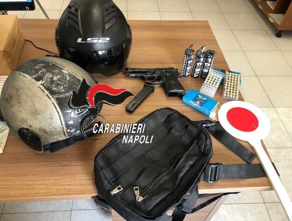 Varcaturo, due giovani arrestati dopo un inseguimento: avevano rapinato un ristorante