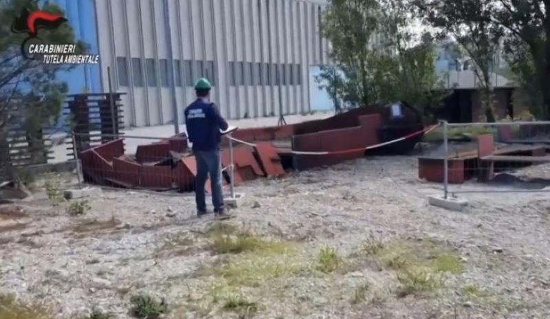 Traffico illecito di rifiuti: 8 misure cautelari eseguite dal Noe di Caserta
