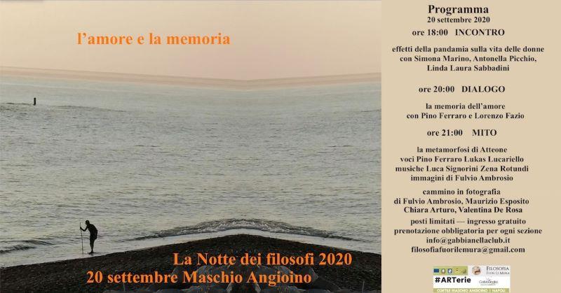 Eventi Napoli 19-20 settembre: al Maschio Angioino La Notte dei Filosofi