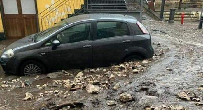 Maltempo in Campania: sgomberi a Sarno e Monteforte Irpino