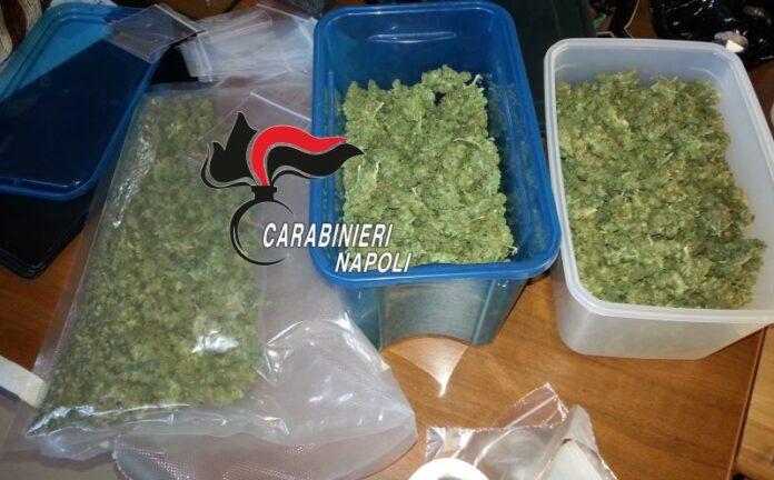 Varcaturo, evade dai domiciliari e nasconde droga in casa: 46enne arrestato (IL NOME)