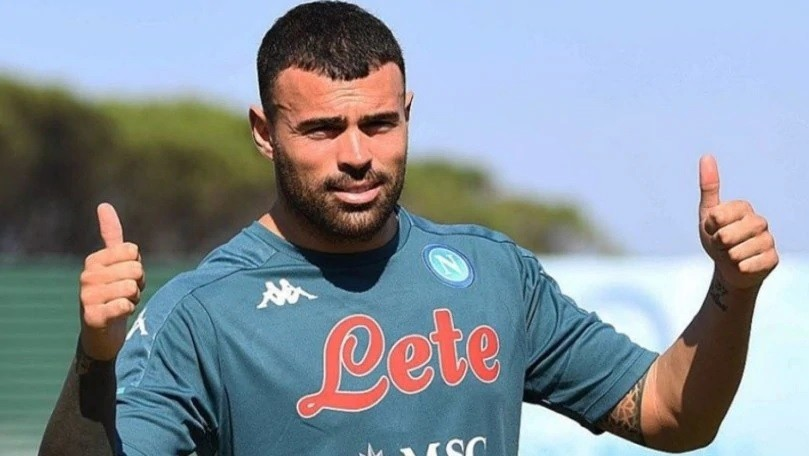 Calcio Napoli, distrazione al retto femorale per Petagna
