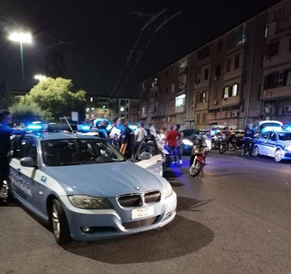 Rione Monterosa, controlli Alto Impatto: multe e sequestri di scooter e droga