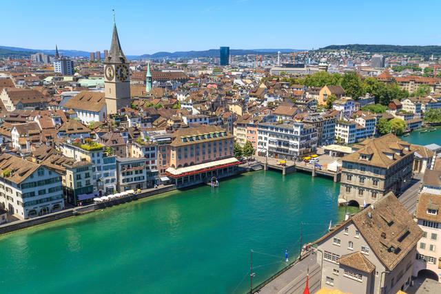 Zurigo: come raggiungerla e cosa vedere