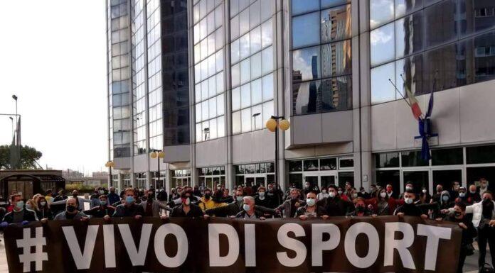 """Le ASD Campania protestano contro il """"Lockdown per lo Sport"""""""