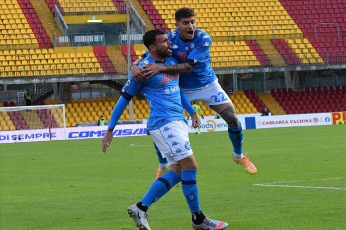 Napoli Benevento è il derby dei fratelli Insigne. Petagna regala la vittoria 2-1