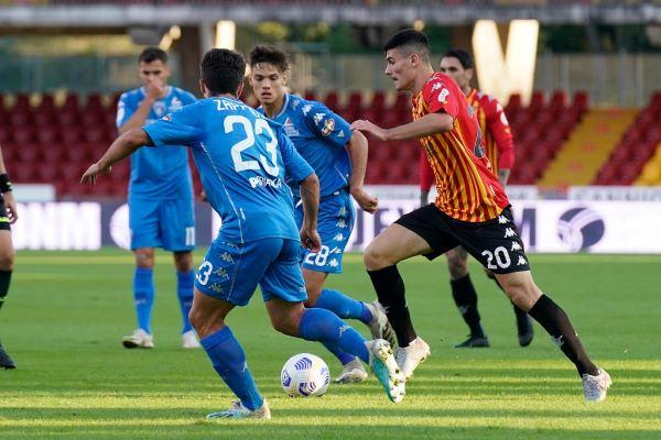 Benevento Calcio fuori dalla Coppa Italia: l'Empoli espugna il Vigorito per 4-2