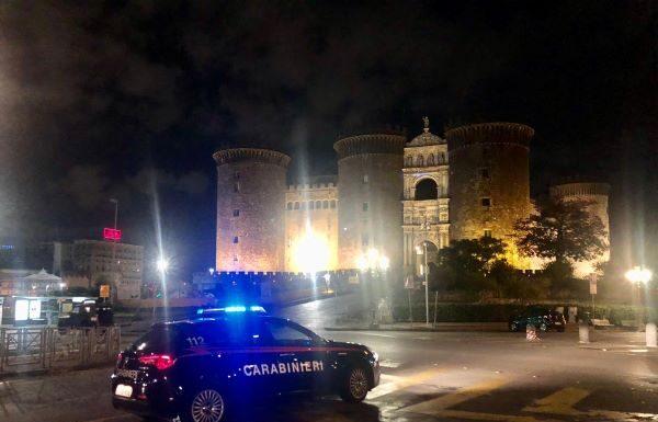 Napoli e provincia, controlli anti Covid 19: 46 persone multate perché senza mascherina