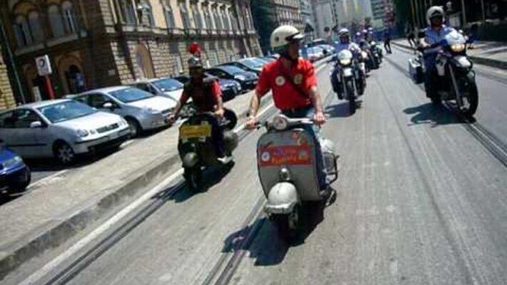 Napoli, Rione Sanità: 20 motoveicoli non a norma sequestrati
