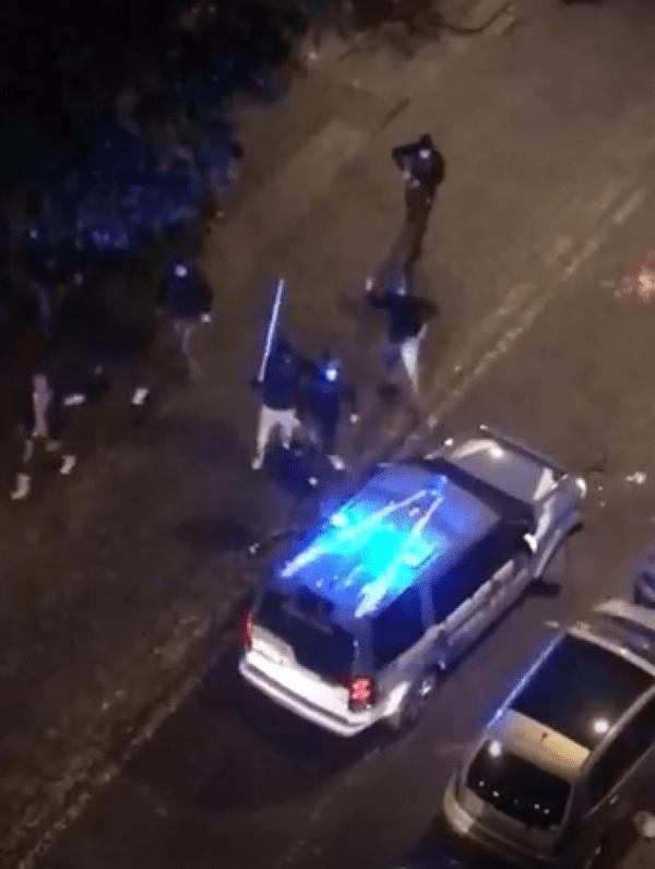 Guerriglia a Napoli contro il lockdown: arrestati due pregiudicati