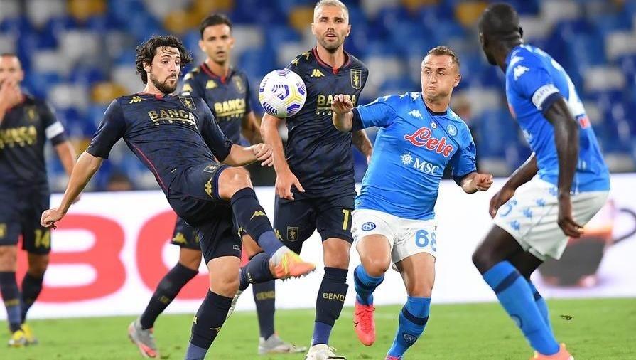 Genoa-Napoli, formazioni e dove vederla in streaming e tv