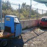 Acerra, sequestrata un'autocarrozzeria abusiva: due denunce