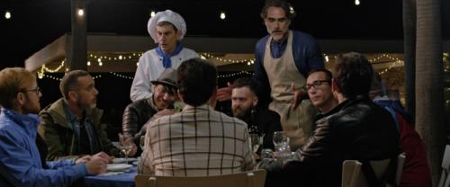 """Gino Sorbillo e Marco Infante nel film """"Alessandra"""" di Pasquale Falcone"""
