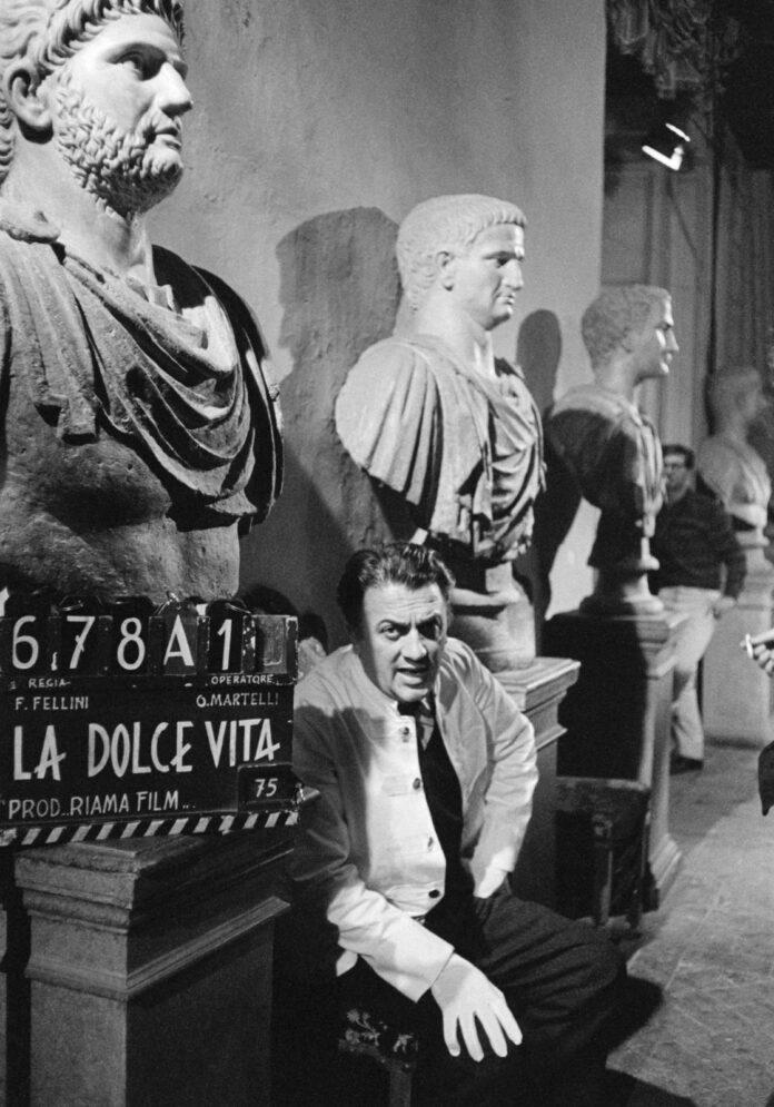 A Vico Equense, mostra fotografica su Federico Fellini