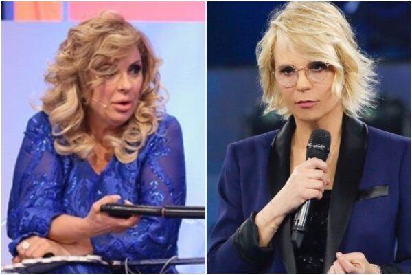 Uomini e Donne Maria De Filippi interviene contro Tina Cipollari