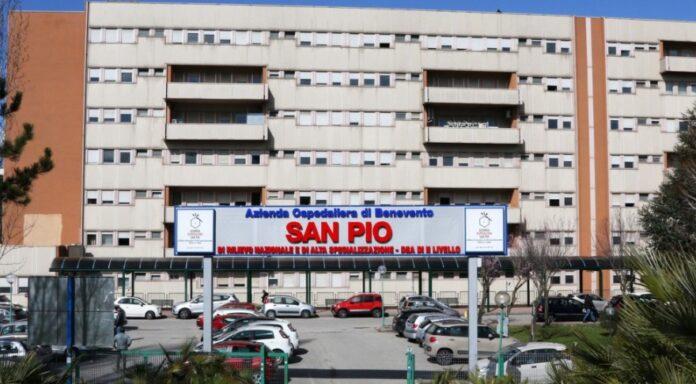 Sanità, l'Azienda ospedaliera San Pio di Benevento è un'eccellenza