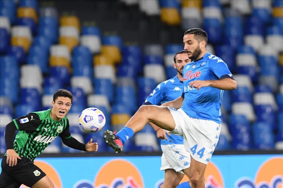 Calcio Napoli, Manolas: distrazione primo grado alla coscia