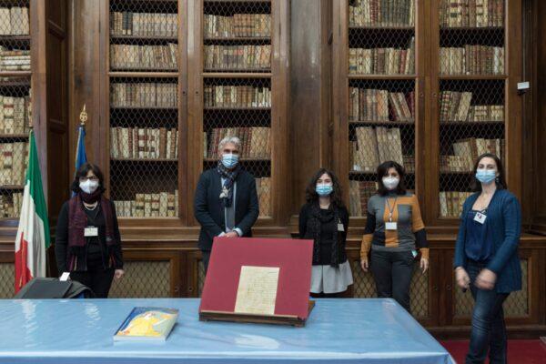 Giacomo Leopardi, ritrovata rara lettera che sarà custodita nella Biblioteca Nazionale di Napoli