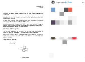 Johnny Depp non sarà più in Animali Fantastici