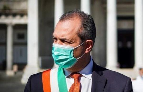 Covid 19 a Napoli: de Magistris convocato dalla Commissione Antimafia