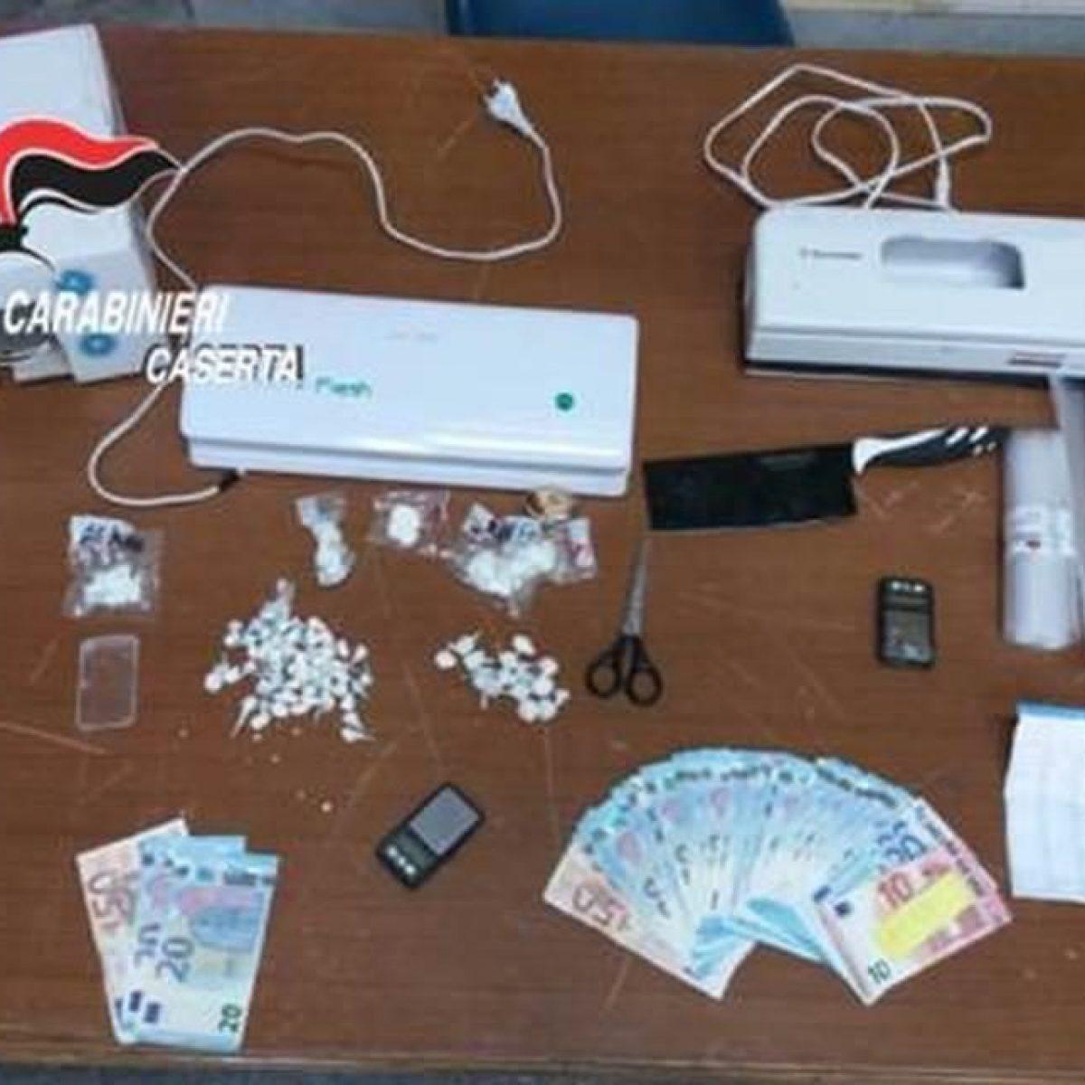 Sgominato traffico di droga da Caivano a Caserta: 12 arresti