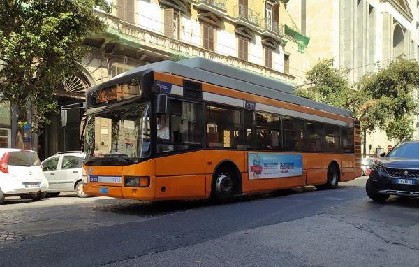 ANM: dal 19 novembre parte l'elettrificazione della linea filobus 204
