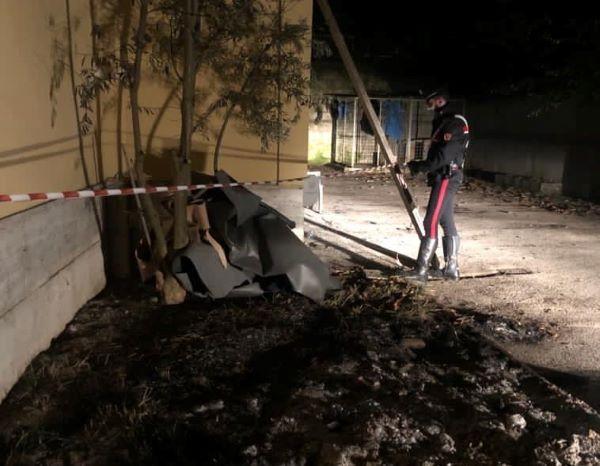Giugliano, guaine date alle fiamme: 50enne arrestato dai Carabinieri