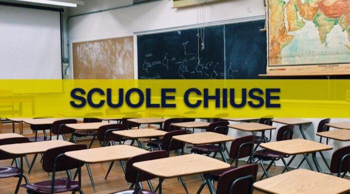 Scuole dell'infanzia e prime elementari in Campania: restano chiuse anche ad Avellino
