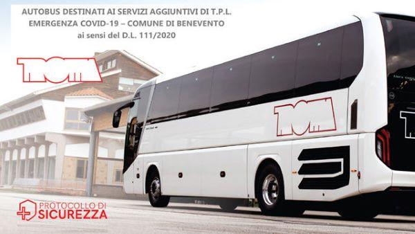 Benevento, buone notizie per il trasporto pubblico: 15 nuovi bus