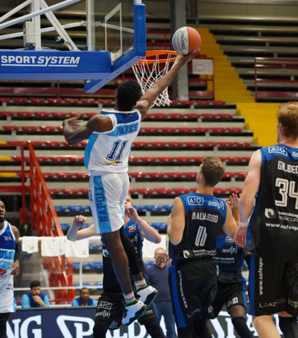 Gevi Napoli, gli azzurri perdono contro Rieti: 77 80