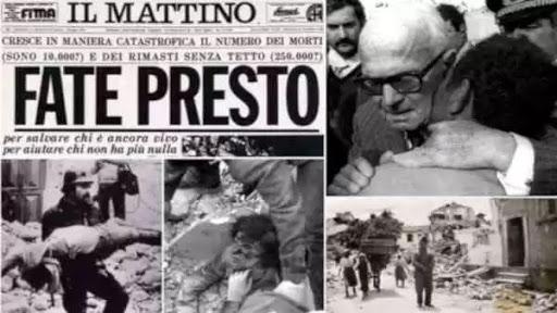 Terremoto 1980, il ricordo del sindaco Napoli: