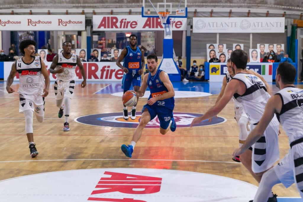 Serie A2: Atlante EuroBasket Roma Gevi Napoli Basket 72 83