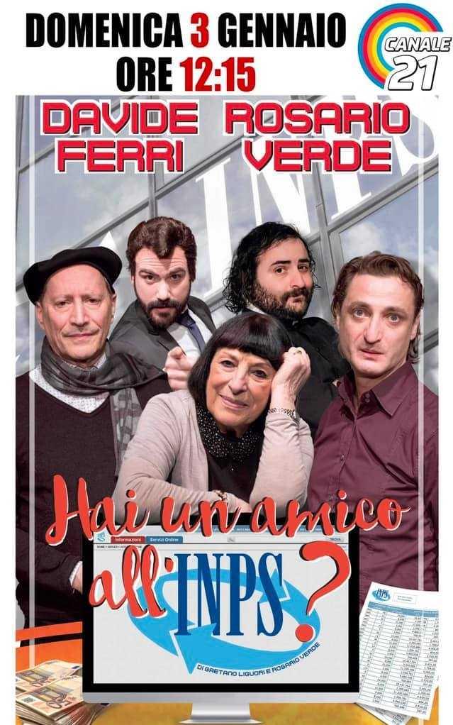 Il Teatro Totò in collaborazione con Canale 21 regala due spettacoli in TV