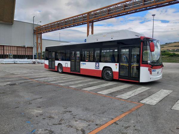 Anm: da oggi entrano in servizio venti nuovi bus a metano