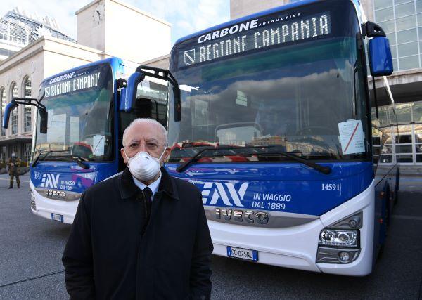 Regione Campania: 259 nuovi bus per le aziende di trasporto pubblico locale