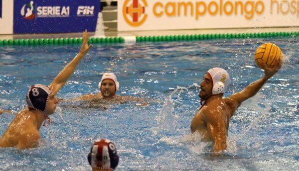 Pallanuoto, la Rari Nantes Salerno batte 11-7 l'Iren Genova Quinto