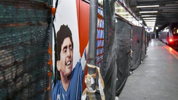Fuorigrotta: la stazione della Cumana sarà intitolata a Maradona