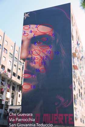 orit: progetto di Vincenzo De Simone sui messaggi nascosti nei murales (GALLERY)