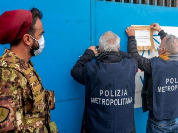 """Afragola e Aversa, """"action day"""" interforze nella Terra dei fuochi: denunce, multe e sequestri (VIDEO)"""