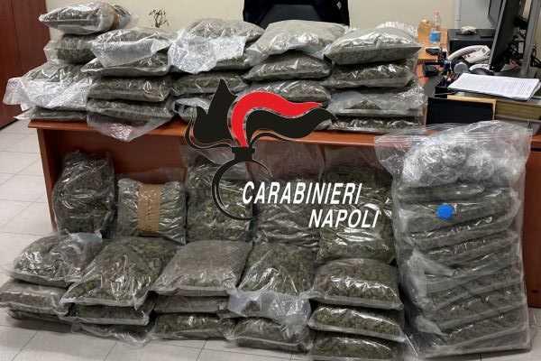 Giugliano, duro colpo allo spaccio di droga: Carabinieri arrestano due pusher