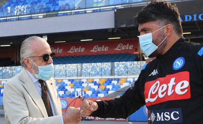 Calcio Napoli, la Champions e poi il divorzio con Gattuso