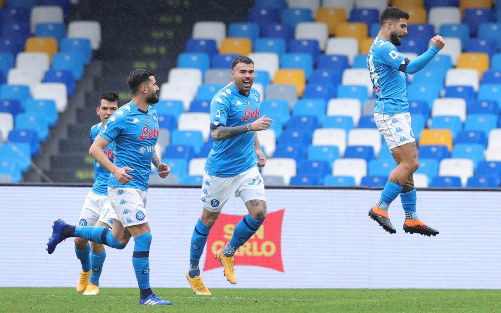 Napoli-Parma, formazioni e dove vederla in streaming e tv