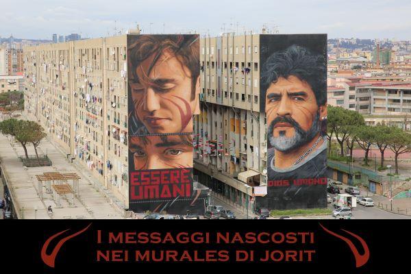 Jorit: progetto di Vincenzo De Simone sui messaggi nascosti nei murales (GALLERY)